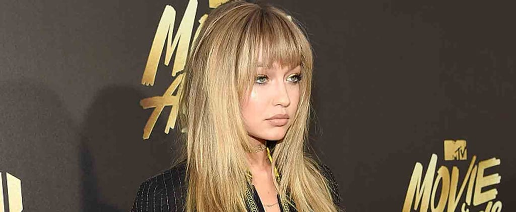 Gigi Hadid's Bangs From Vogue Are Back For the MTV Movie Awards