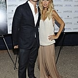 Rachel Zoe and Rodger Berman party without son Skyler Berman.