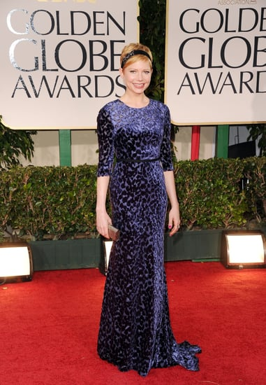 Michelle Williams Jason Wu Dress Pictures at 2012 Golden Globes