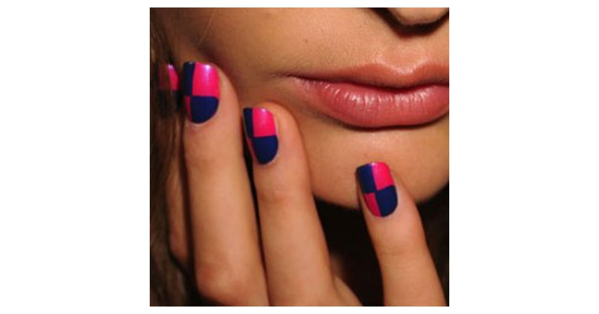 Nail Polish, Nail Art at New York Fashion Week Spring 2012 ...