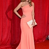 Catherine Tyldesley at the British Soap Awards in May 2014