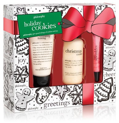 Philosophy Three-Piece Holiday Cookies Set ($24)