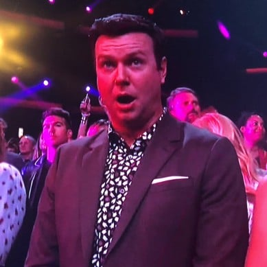 Taran Killam's Reaction to Cardi B at American Music Awards