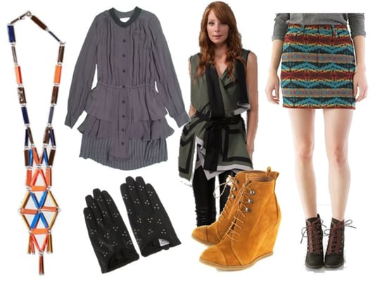 Fashionologie Editors' Fall 2010 Shopping Picks Featuring Opening Ceremony Pendleton Skirt