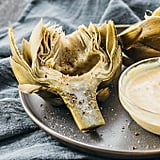 Artichokes With Spicy Garlic Mustard