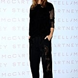 Stella McCartney at a cocktail party in Tokyo.