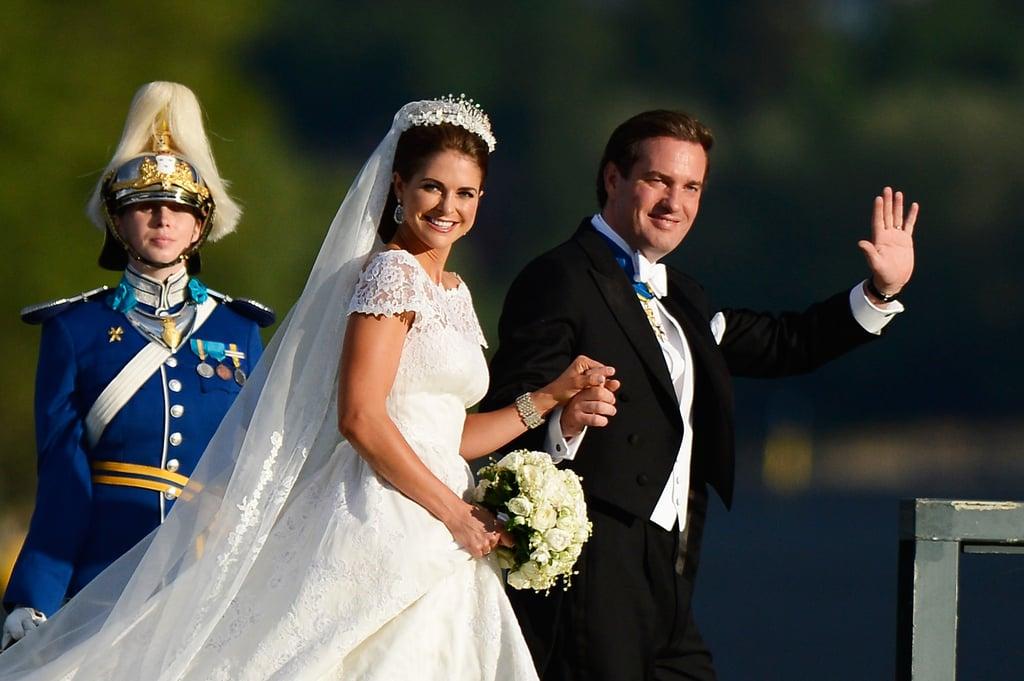 Sweden's Princess Madeleine Marries a US Banker in a Lavish Royal Wedding!