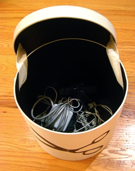 Simple Tip For Organizing and Storing Computer and Gadget Cords