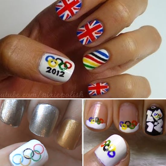 Fan the Olympic Flames With These Nail Art Tutorials