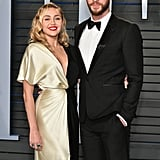 Pictured: Miley Cyrus and Liam Hemsworth