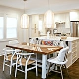Tish expanded the main home from 1,200 to 3,000 square feet and completely overhauled the kitchen.