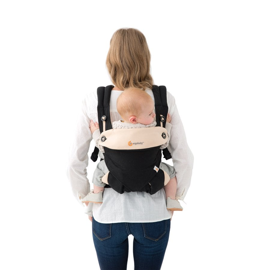 Baby Facing Out In Ring Sling
