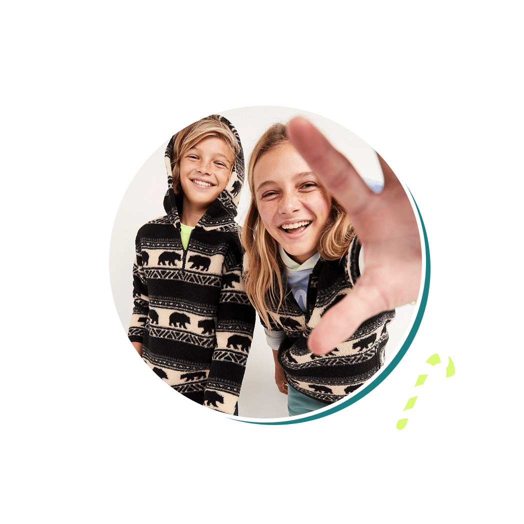 Designed by the next generation for the next generation. Shop the full POPSUGAR x Old Navy collection here.