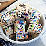 Monster Cookie Dough Fudge