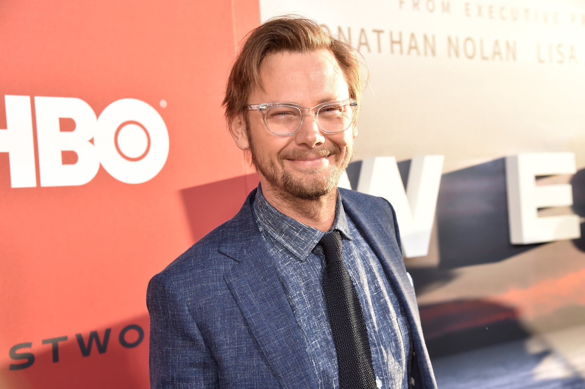 LOS ANGELES, CA - APRIL 16:  Jimmi Simpson attends the Los Angeles Season 2 premiere of the HBO Drama Series WESTWORLD at The Cinerama Dome on April 16, 2018 in Los Angeles, California.  (Photo by Jeff Kravitz/FilmMagic for HBO)