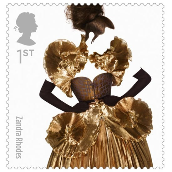 Great British Fashion Stamps