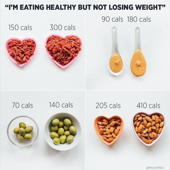 Why You're Gaining Weight Eating Healthy Foods