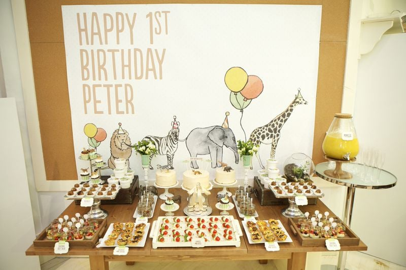Animals on Parade! Peter's Supersweet First Birthday Party
