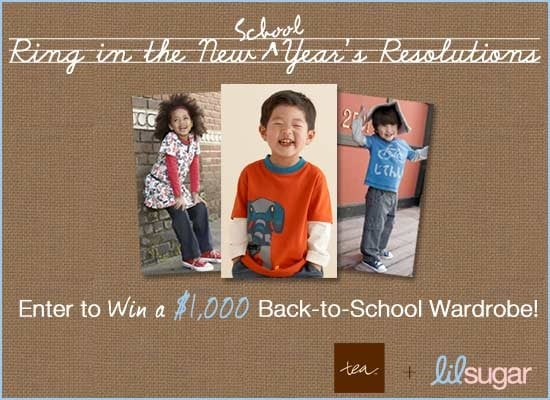 Ring In the New School Year and Win $1,000 Wardrobe From Tea Collection!