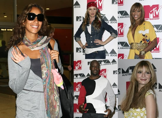 Leona Lewis, Eve, Wyclef Jean, Mischa Barton, Juliette Lewis Prepare for the MTV Australia Awards