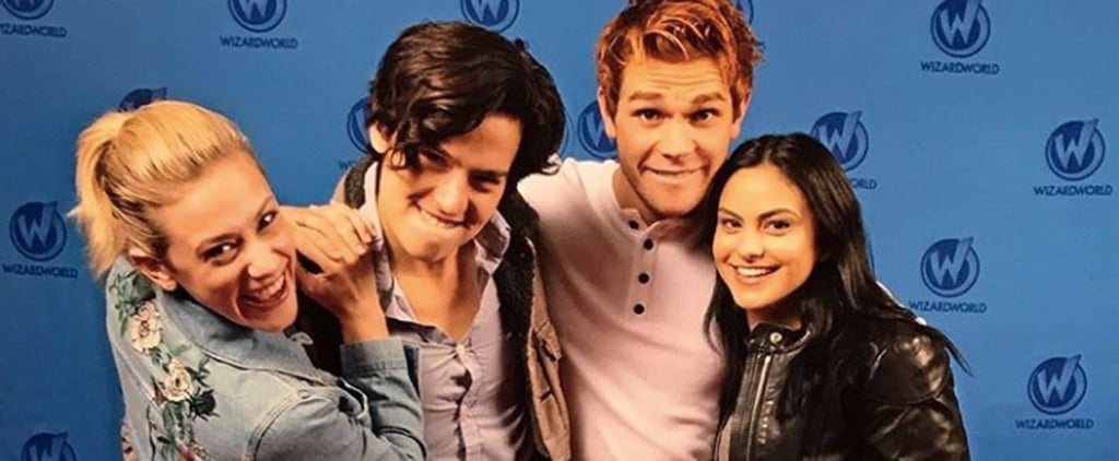 Riverdale Cast on Twitter and Instagram