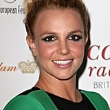 Britney Spears Goes Green to Celebrate Her UK Tour With Jason Trawick