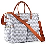 Kattee Chevron Diaper Bag