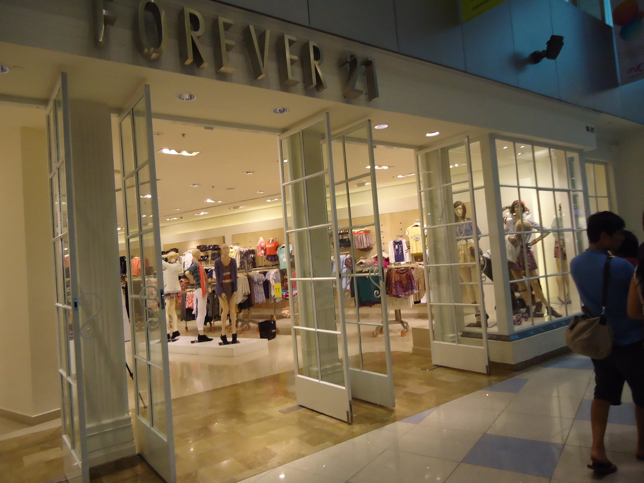 Forever 21 was full of attainable fashion buys.