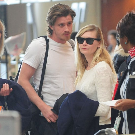 Kirsten Dunst and Garrett Hedlund Arriving in Paris