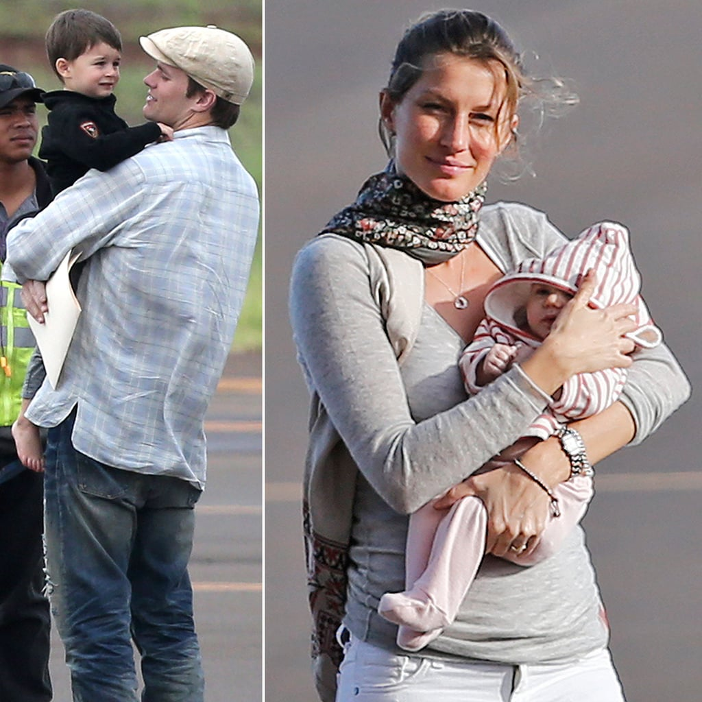 First Pictures of Gisele's Baby Girl Vivian