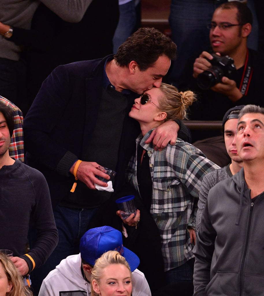 Did Mary-Kate and Olivier Even Watch the Game?