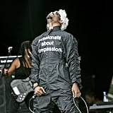 André 3000 Performing at the Roskilde Festival in 2014