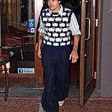Harry Styles Wearing Black Nail Polish