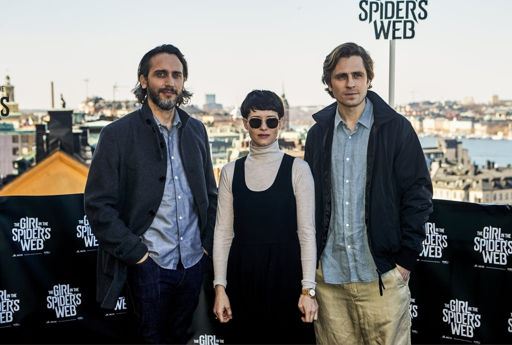 The Girl in the Spider's Web Cast Photos April 2018