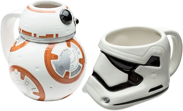 Disney BB-8 and Stormtrooper Mug Set