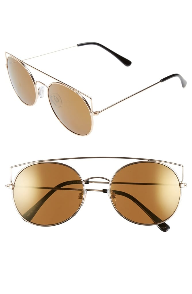 BP 55mm Round Mirrored Sunglasses ($12)