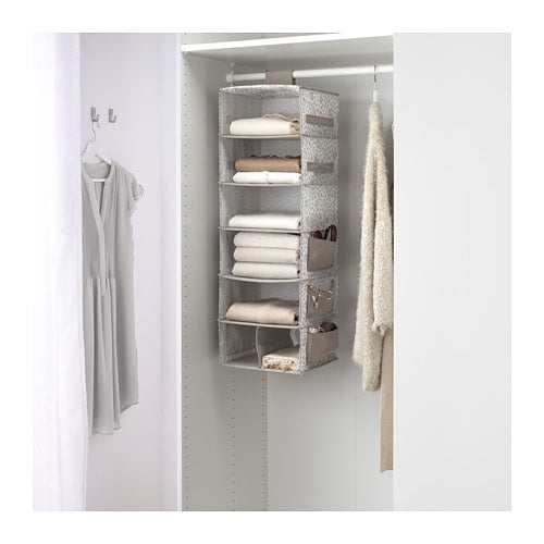 Hanging Storage With Seven Compartments