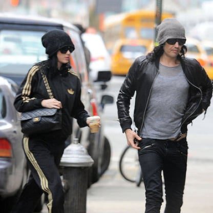 Pictures of Russell Brand and Katy Perry Together in NYC