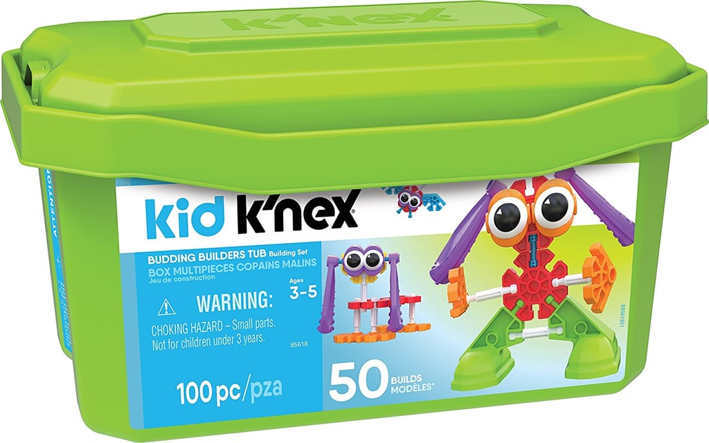 Kid K'Nex Budding Builders Tub Building Kit