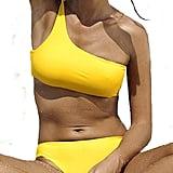 Amazon Wetopkim One Shoulder Bikini