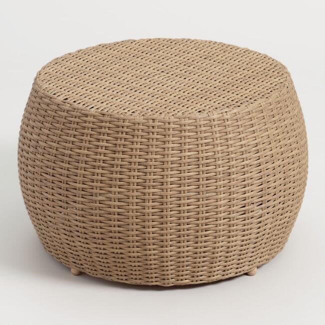 All Weather Wicker Vilamoura Outdoor Coffee Table