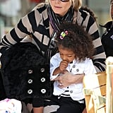 Heidi Klum Shares a Fun Family Day With Her Four Kids in LA