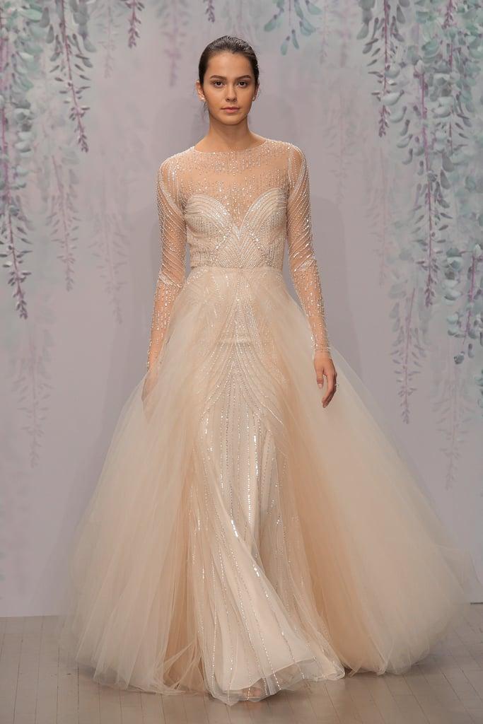 Nontraditional wedding dresses bridal fashion week fall for Monique lhuillier brooke wedding dress