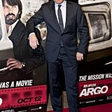 Bryan Cranston struck a pose at the Argo premiere in Washington, DC.