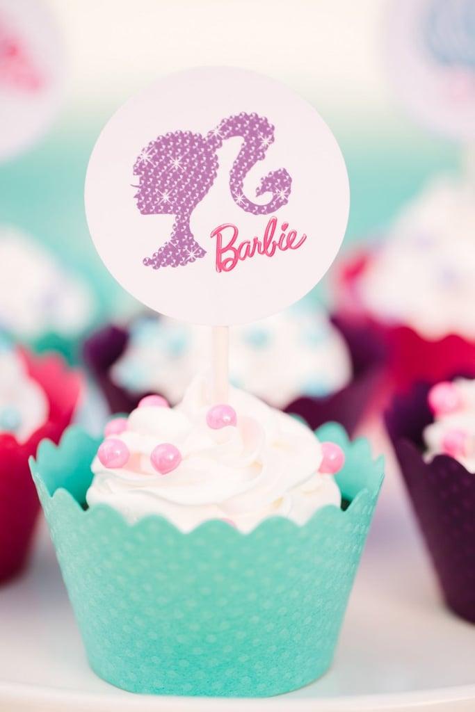 Barbie Cupcakes