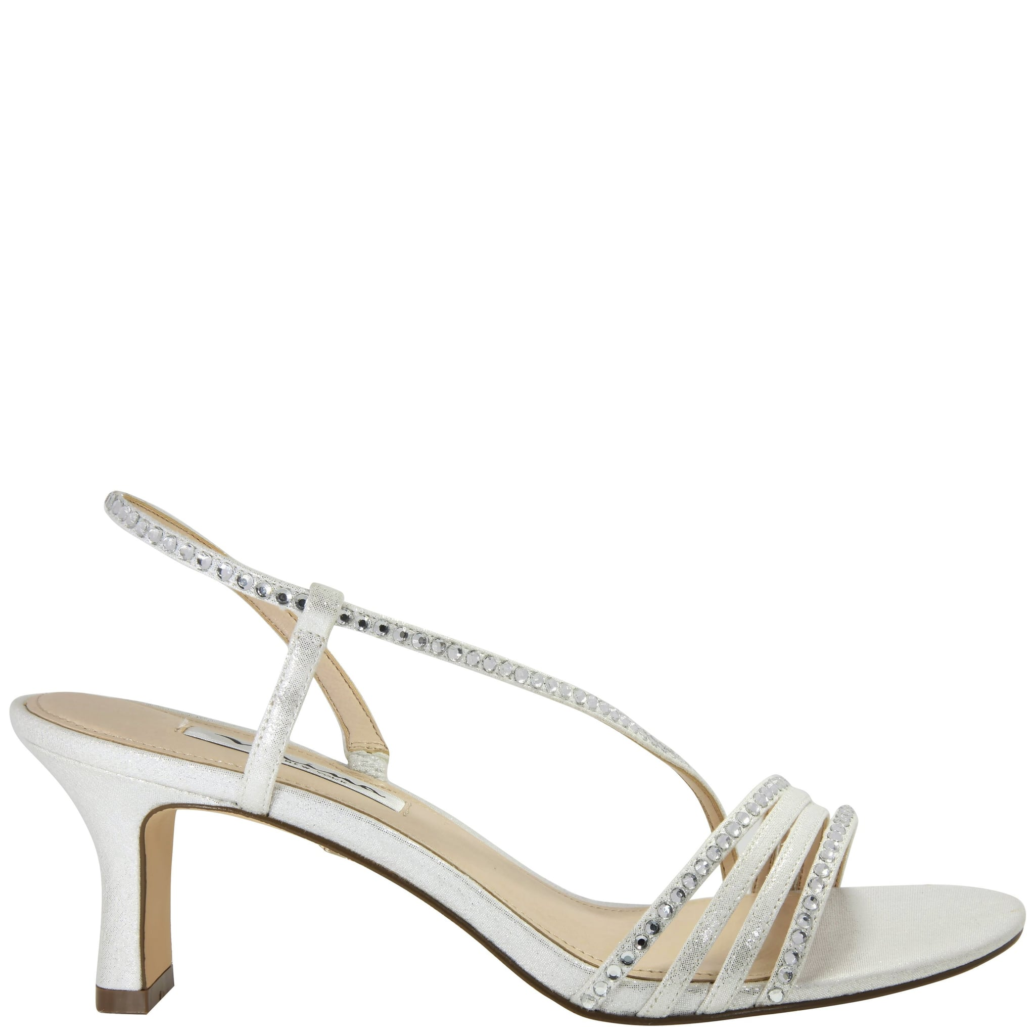 Silver Kitten Heels This Throwback Sandal Is Perfect For Weddings Date Night And Beyond Popsugar Fashion Photo 15