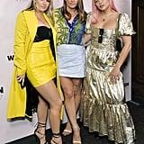 JoJo, Matt Dunn, and Liza Owen at the 2020 Women in Harmony Brunch in LA