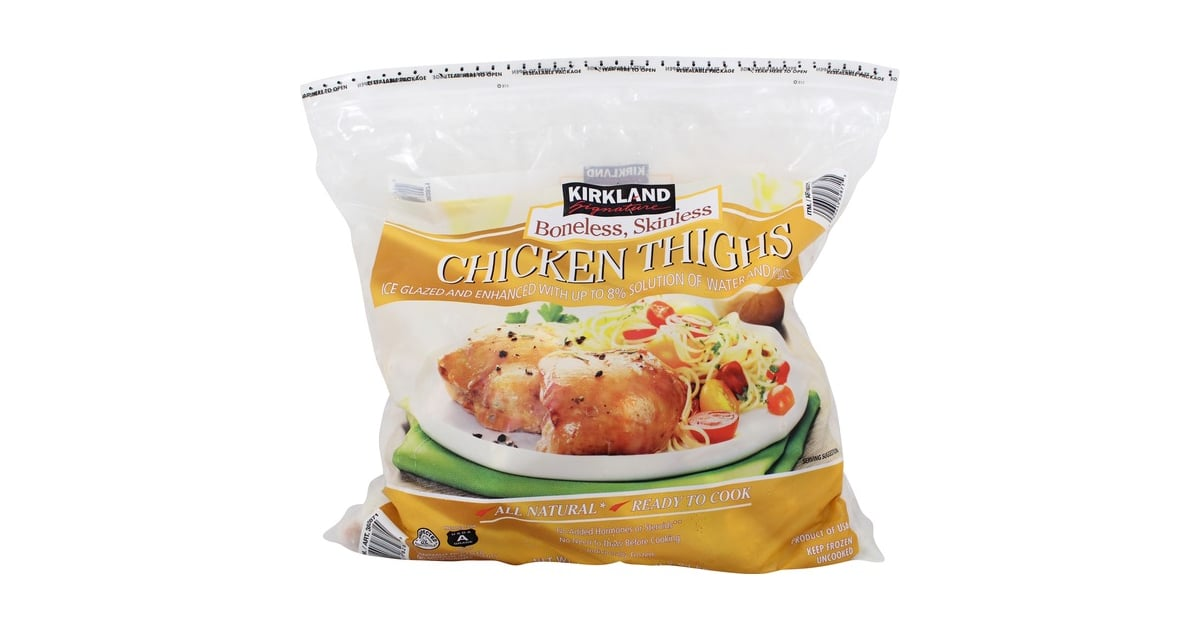 Kirkland Signature Boneless Skinless Chicken Thighs 14 Best Frozen Foods From Costco