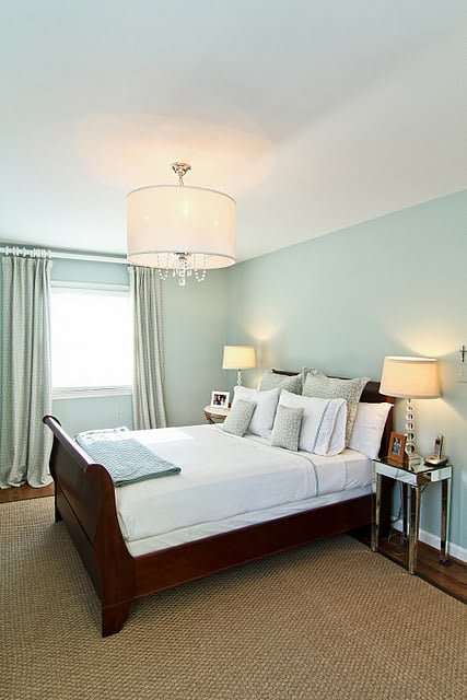 Palladian blue by benjamin moore 5 paint colors that soothe and energize popsugar home Beautiful master bedroom paint colors