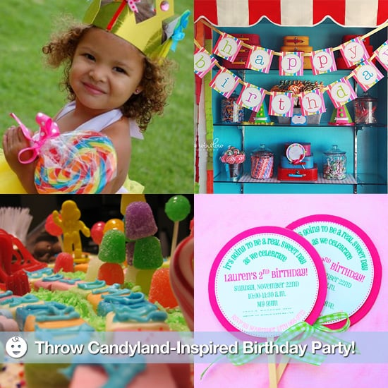 How to Throw a Candyland-Themed Birthday Party